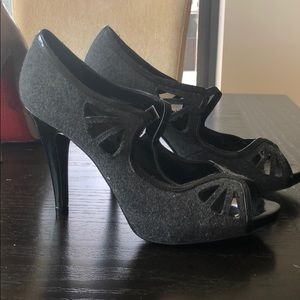 Grey and black Aldo shoes. Never worn. Brand new.